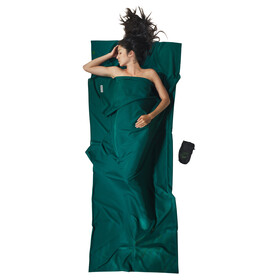 Cocoon TravelSheet Sacco lenzuolo Microfiber verde